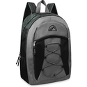 """Mountain Edge 17"""" Bungee Front Pocket Backpack"""