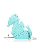 折纸海马斜肩背