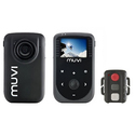 Veho MUVI HD10 Mini Hands-Free Action Cam with Remote and Helmet Mounting Bracket