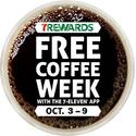 7 Eleven FREE Coffee Week