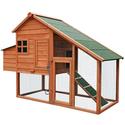Merax Chicken Coop Rabbit Hutch Pet Cage