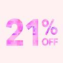Forever 21: 21% OFF Regular-priced Items
