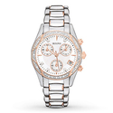 Bulova Women's Anabar Chronograph Dress Watch