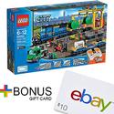 LEGO City Cargo Train 60052+$10 ebay Gift Card