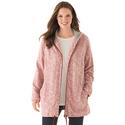 Jacket in Cozy Marled Fleece