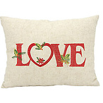 Holiday Love Pillow