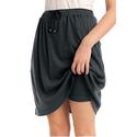 Skort in Soft Sport Knit w/ Custom-Fit Waist
