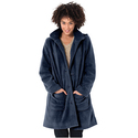 Jacket in The Coziest Fleece With A-Line Shape