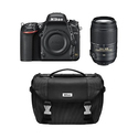Refurbished Nikon D750 24.3MP FX Digital SLR w/ 55-300 VR Lens and Case