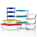 Pyrex 玻璃保鲜盒22件套