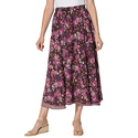 Woman Within Reversible Skirt