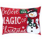 圣诞雪人抱枕