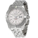 Breitling Galactic 41 Silver Dial Men's Watch