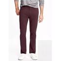Built-In Flex Slim Brushed-Twill Pants for Men