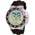 Invicta Excursion Reserve Chronograph Champagne Dial Brown Polyurethane Men's Watch