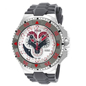 Invicta Excursion Chronograph Silver Dial Grey Polyurethane Men's Watch