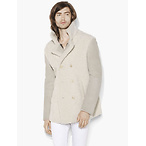Shearling Breasted Coat