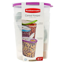 Rubbermaid 3pk Cereal Keeper