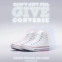 Macys: Select Men's Converse Chuck Taylor All Stars