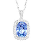 Pendant with Fancy Blue