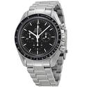 Omega Speedmaster Professional Moonwatch Black Dial Stainless Steel Men's Watch
