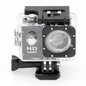Wide-Angle Sport Camera with Waterproof Case