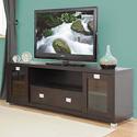 Baxton Studio Gosford Brown Wood Modern TV Stand