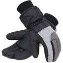 Simplicity Men's 3M Thinsulate Winter Waterproof Ski Gloves