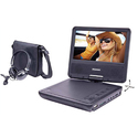 "Portable DVD Player With 7"" Swivel Screen"