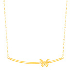 Butterfly Bar Necklace
