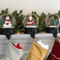 Snow Globe Stocking Holder