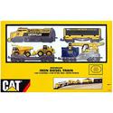 Caterpillar Toys Iron B/O Diesel Train