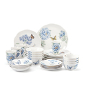 Butterfly Meadow Blue 28-piece Dinnerware Set