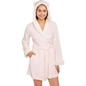 Body Candy Juniors' Huggable Luxe Critter Ears Sleepwear Robe