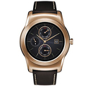 LG Watch Urbane Smartwatch - Gold with Brown Strap