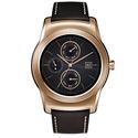 LG Watch Urbane Smartwatch - Gold with Brown Strap