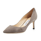 Jimmy Choo Romy Suede Pump
