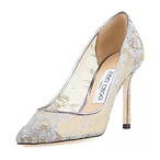 Jimmy Choo Romy Metallic Pump