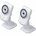 2 Pack D-Link Day & Night Wi-Fi Camera