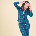 Nocturnal Yourself Out Pajama Set