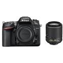 Refurbished Nikon D7200 DX 24.2MP Digital SLR Camera with 55-200 VR II Lens