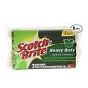 Scotch-Brite Scrub Sponge 3-Count (Pack of 8)