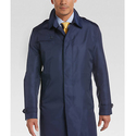 Tommy Hilfiger Postman Blue Modern Fit Raincoat