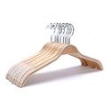 J.S. Hanger 超耐用木质衣架10个装