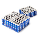 Sony AA (72) & AAA (72) STAMINA PLUS Alkaline Batteries Mega Pack