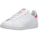 Adidas Originals 三叶草女童Stan Smith J 贝壳头板鞋