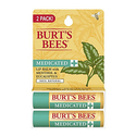 Burt's Bees 100% Natural Medicated Moisturizing Lip Balm 2-Pack