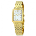 Raymond Weil Tradition Gold-Tone Mother of Pearl Dial Diamond Ladies Watch
