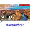 "Samsung UN65KS8000 65"" Class 4K SUHD Smart LED TV"