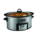 Crock-Pot 6-Quart Programmable Oval Slow Cooker